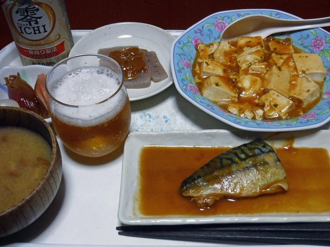 ブログ 夕食 マーボとサバ味噌煮.jpg