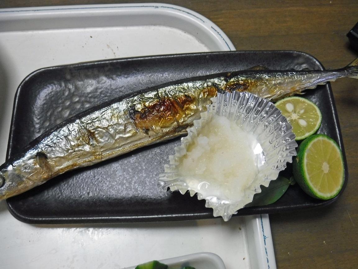 ブログ 夕食  サンマ.jpg