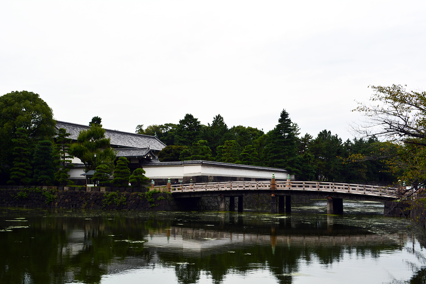 皇居 平川橋 平川門 大手濠2