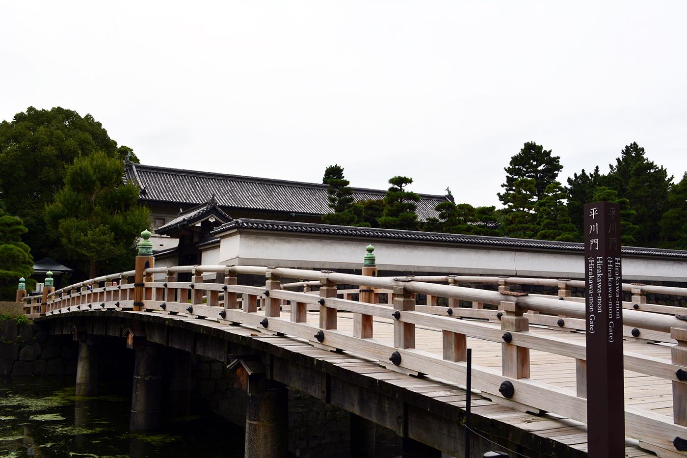 皇居 平川門 平川橋