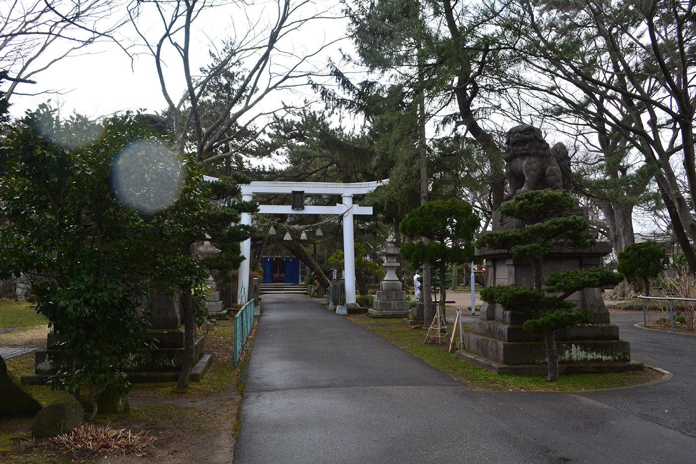 能代市柳町 八幡神社120200301