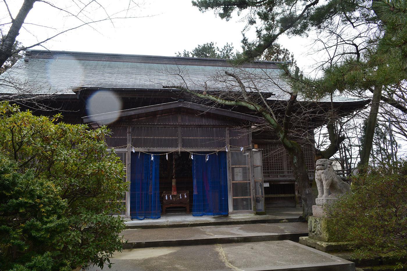 能代市柳町 八幡神社220200301