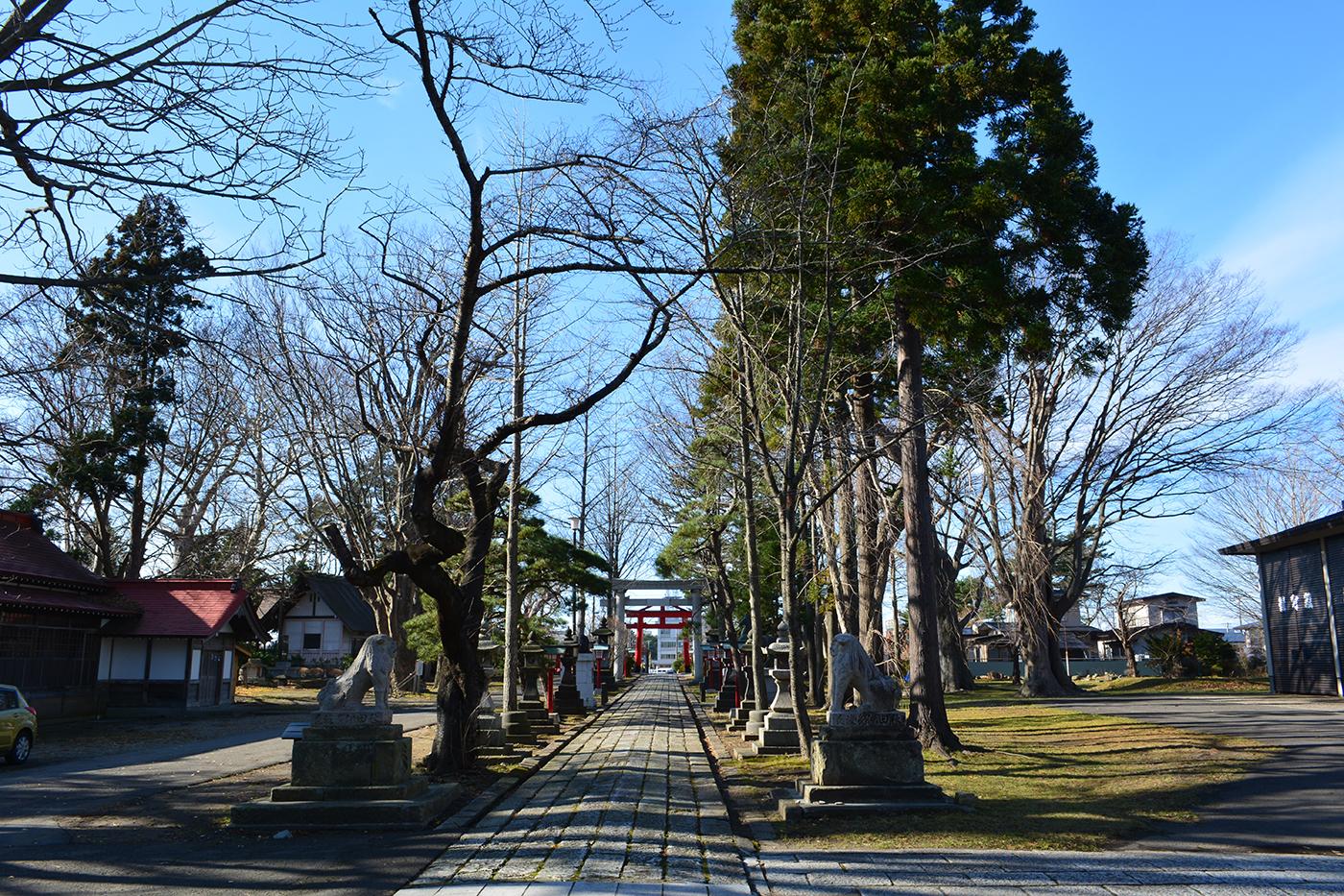 能代市御指南町 日吉神社720191209