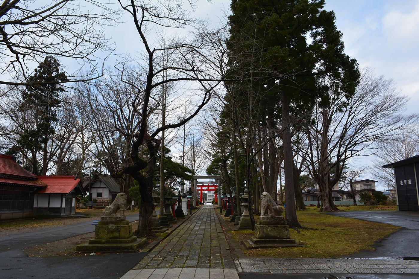 能代市御指南町 日吉神社720191210