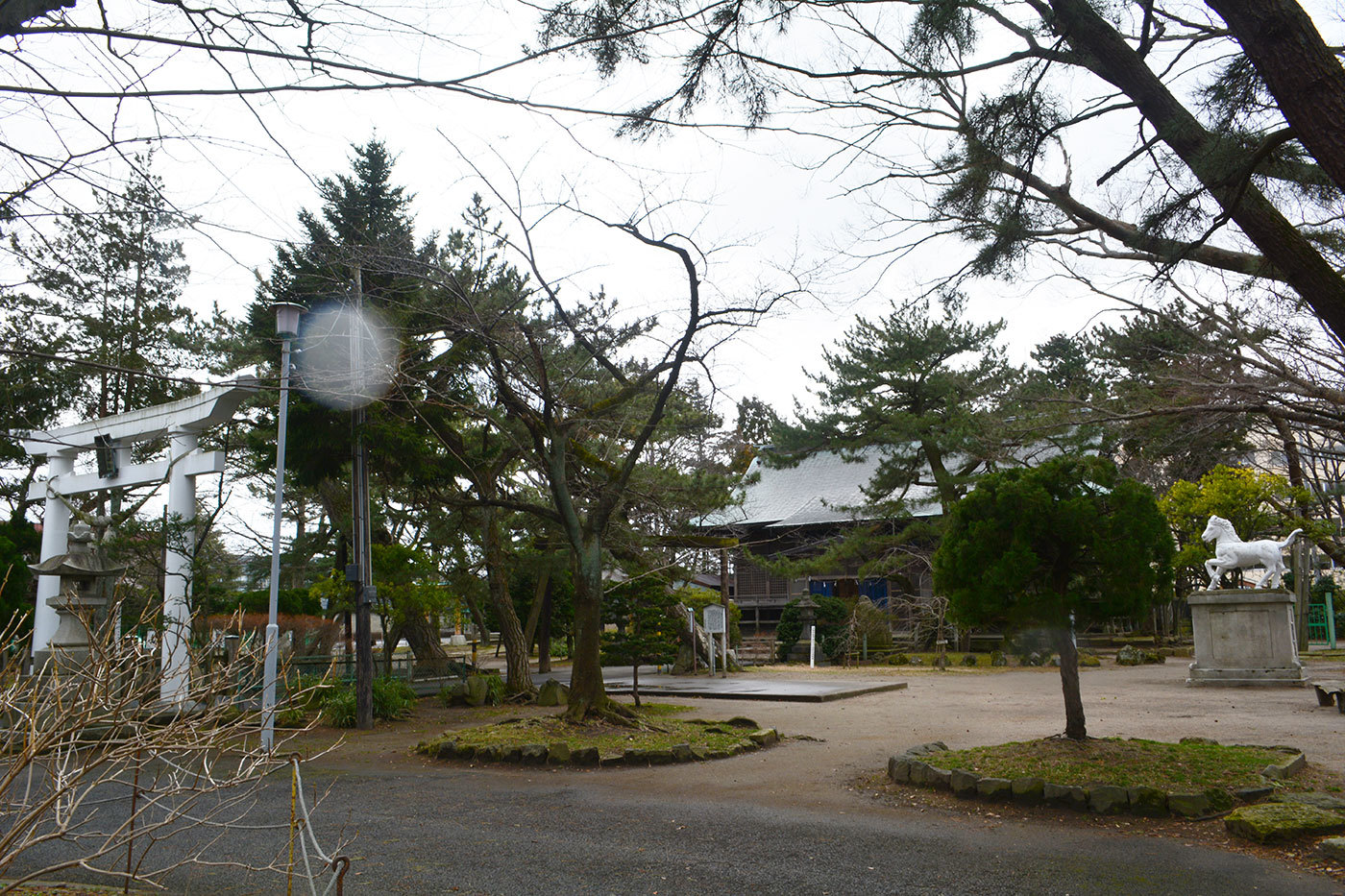 能代市柳町 八幡神社320200301