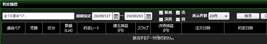 DMM FX20200127-20200201_約定