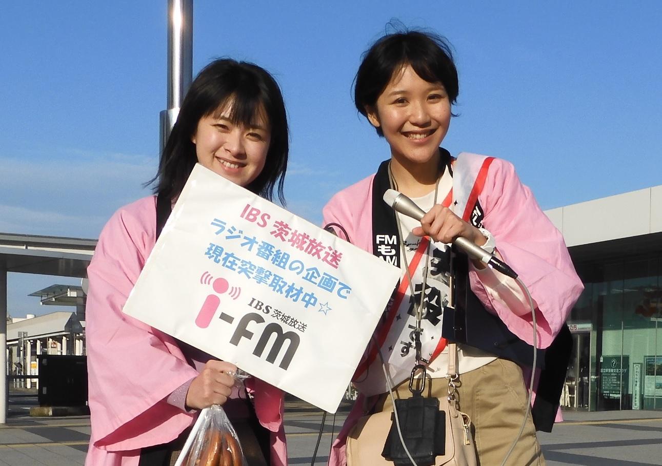 水越恭子さんと西永里花さん