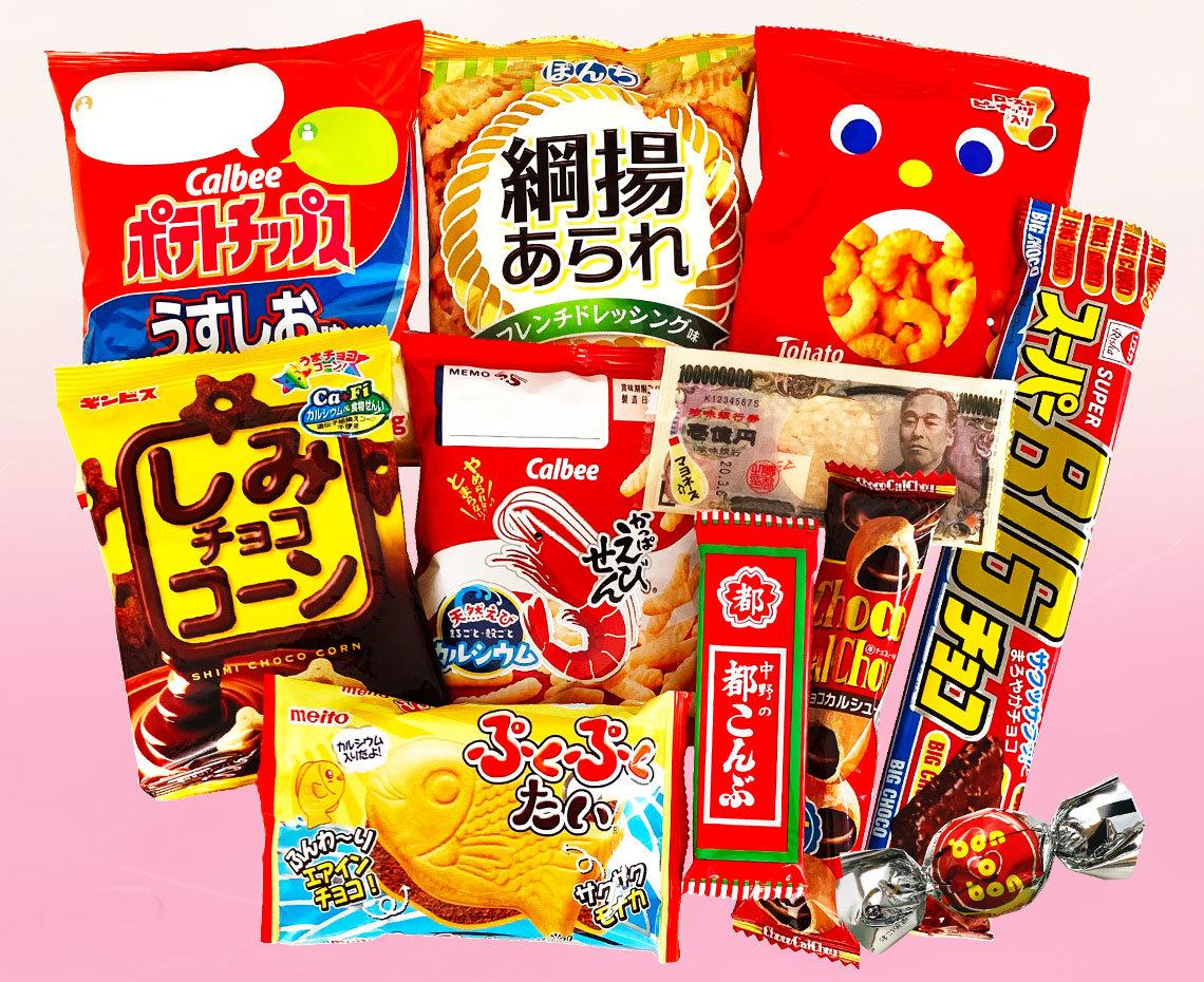 お正月用お菓子の詰め合わせ【梅】内容