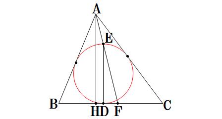 1344-三角形と内接円0