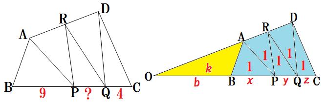 1361-面積5等分