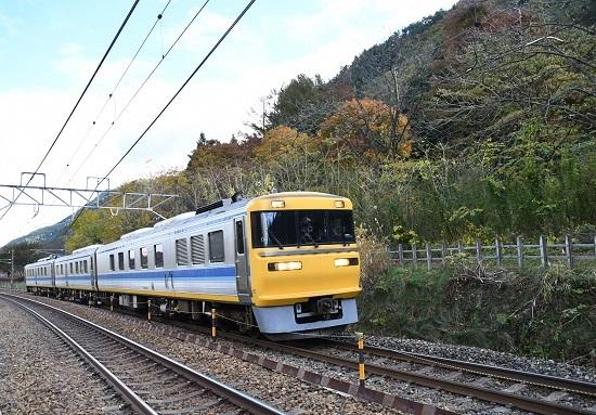 2019年11月4日撮影 西線キヤ検 日出塩駅にて