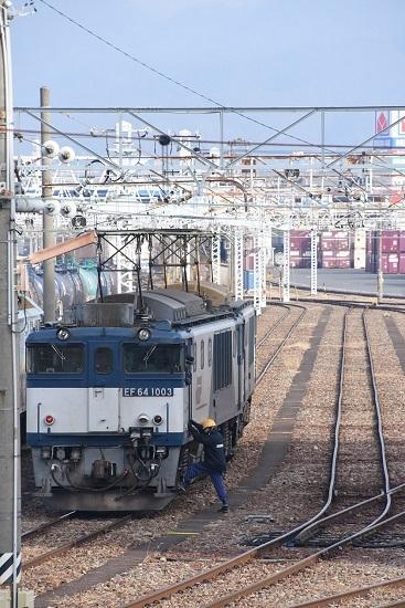 2019年12月21日撮影 南松本にて西線貨物8084レ 機回し1