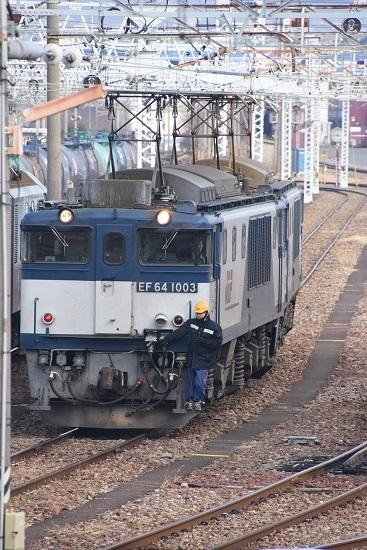 2019年12月21日撮影 南松本にて西線貨物8084レ 機回し3