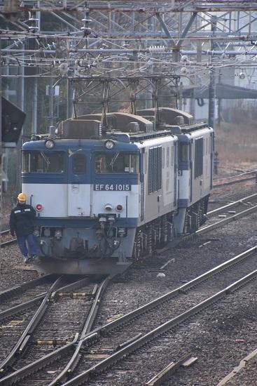 2019年12月21日撮影 南松本にて西線貨物8084レ 機回し4