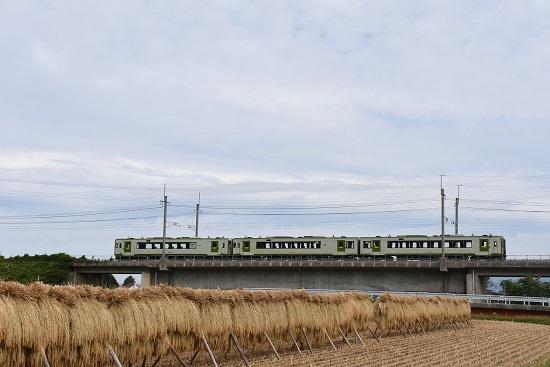 2019年9月20日撮影 中央東線を行く キハ110 3両の回送