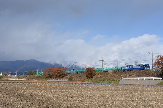 2019年11月14日撮影 東線貨物2080レ EH200-5号機