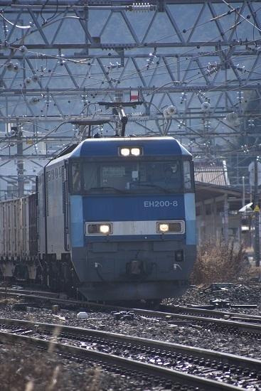 2019年12月21日撮影 東線貨物2083レ 塩尻駅通過