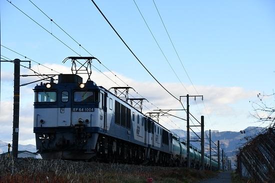 2019年11月20日撮影 西線貨物6088レ