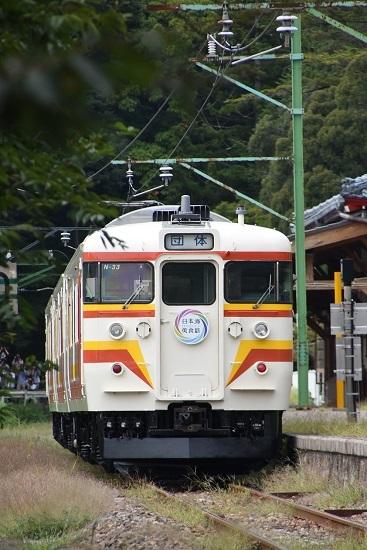 2019年9月21日撮影 115系N33編成 弥彦駅停車中