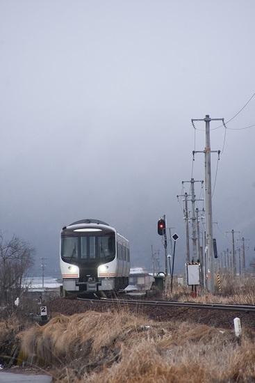2020年2月23日撮影 高山本線 HC85系試運転 飛騨古川