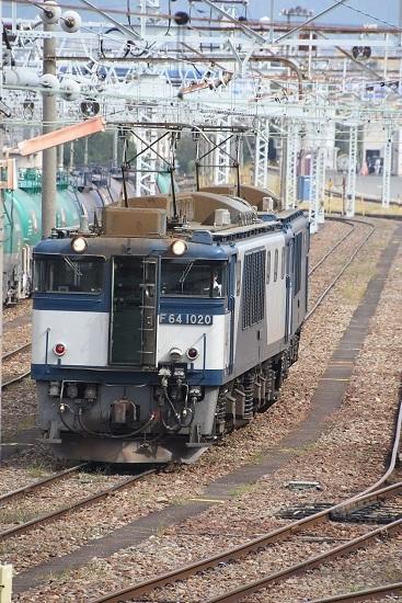 2019年9月28日撮影 南松本にて EF64 貫通扉開放