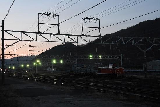 2020年2月25日撮影 塩尻大門にて DD16-11号機