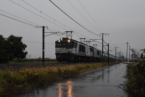 2019年10月22日撮影 西線貨物6088レ