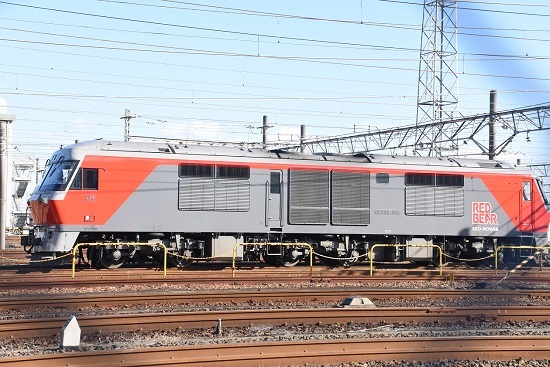 2019年12月28日撮影 稲沢にてDF200-205号機