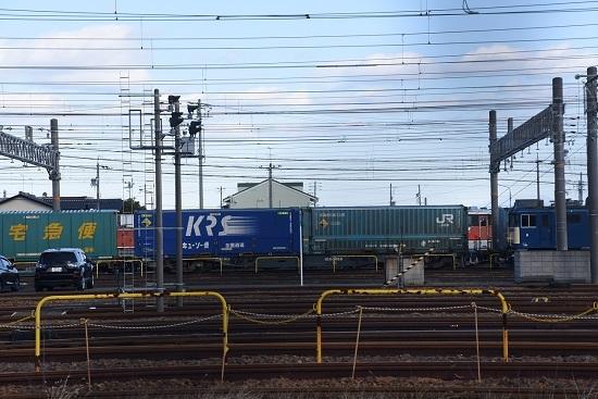 2019年12月28日撮影 稲沢にてJR貨物のコンテナ