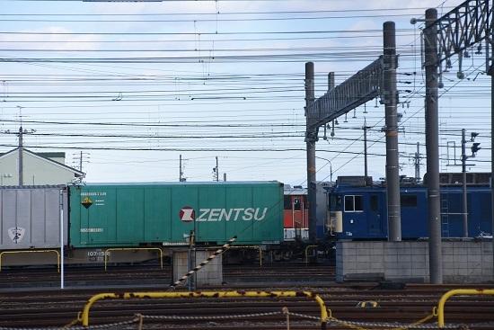 2019年12月28日撮影 稲沢にてZENTSU緑色コンテナ