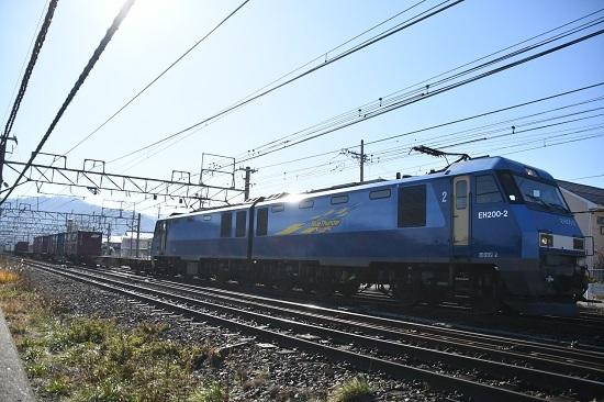 2019年11月21日撮影 東線貨物2083レ EH200-2号機