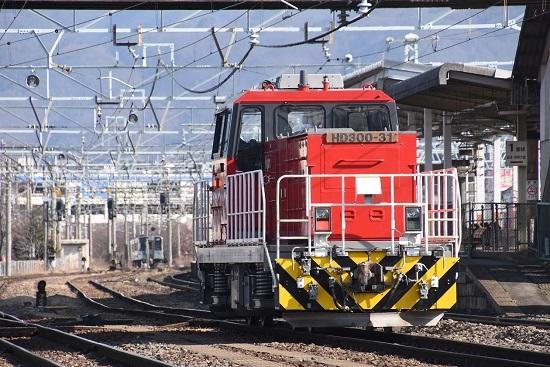 2020年2月9日撮影 南松本にてHD300-31号機