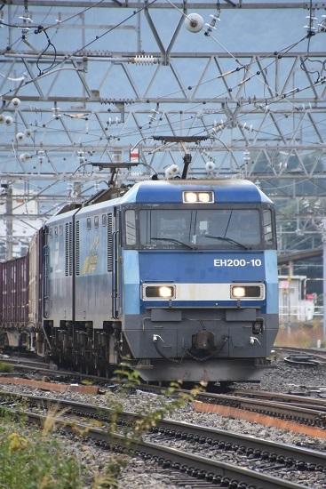 2019年9月28日撮影 東線貨物2083レ EH200-10号機UP