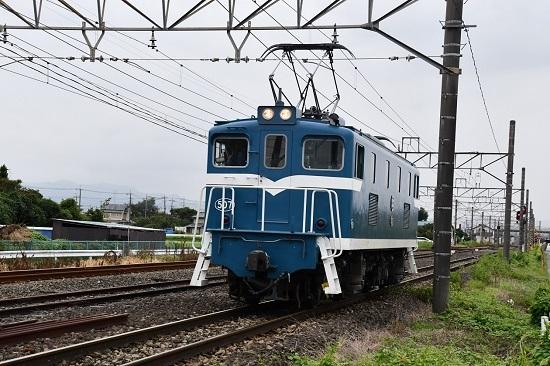 2019年9月13日撮影 秩父鉄道 デキ507