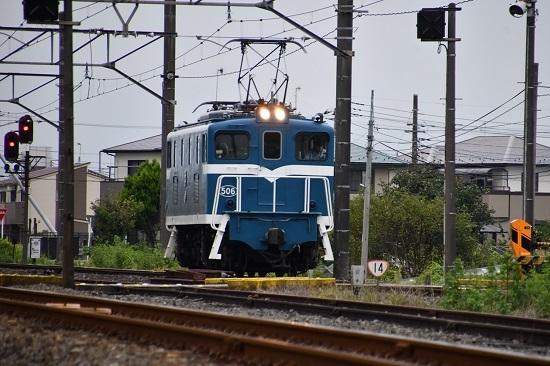 2019年9月13日撮影 秩父鉄道 デキ506