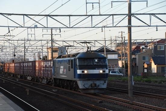2019年11月15日撮影 68レ EF210-170号機