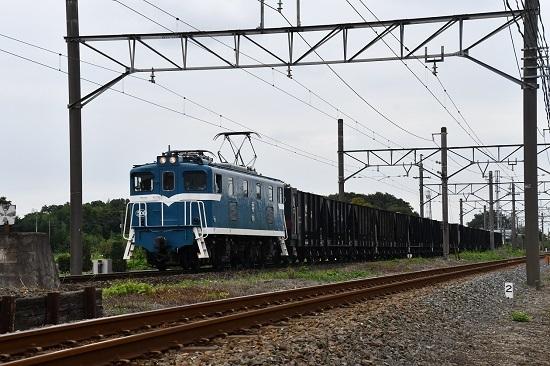 2019年9月13日撮影 秩父鉄道 デキ506が牽く空のヲキフ
