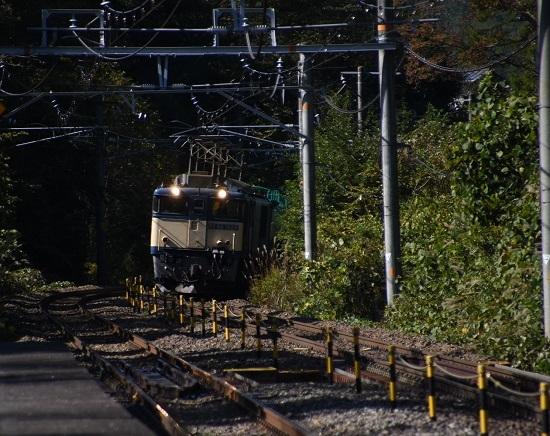 2019年10月23日撮影 西線貨物8883レ EF64-1028号機