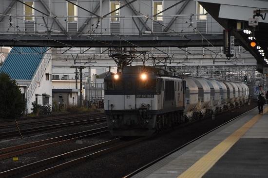 2019年11月15日撮影 清洲駅にて5767レ EF64-1013号機
