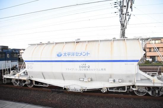 2019年11月15日撮影 清洲駅にて ホキ1100形