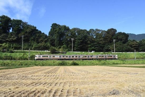 2019年9月29日撮影 飯田線213M 313系1700番台