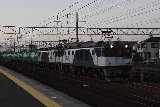 2019年11月15日撮影 清洲駅にて西線貨物8885レ
