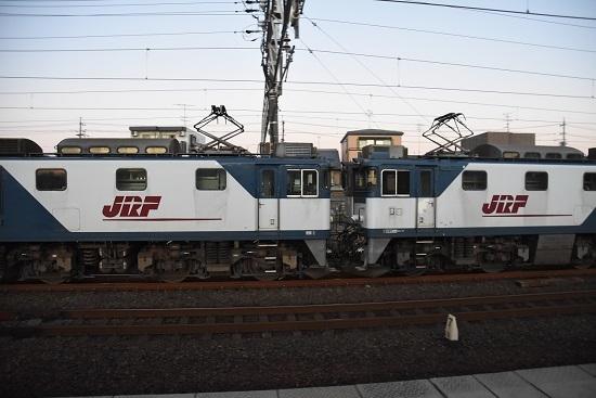 2019年11月15日撮影 清洲駅にてEF64-1047と1003号機の連結部