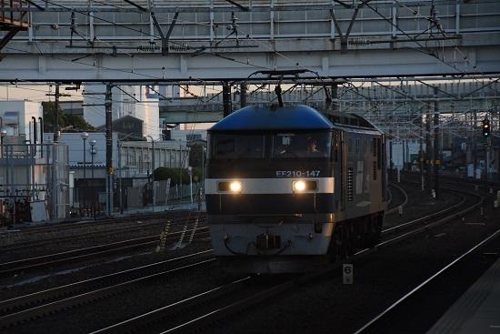 2019年12月28日撮影 8055レ EF210-147号機 単回