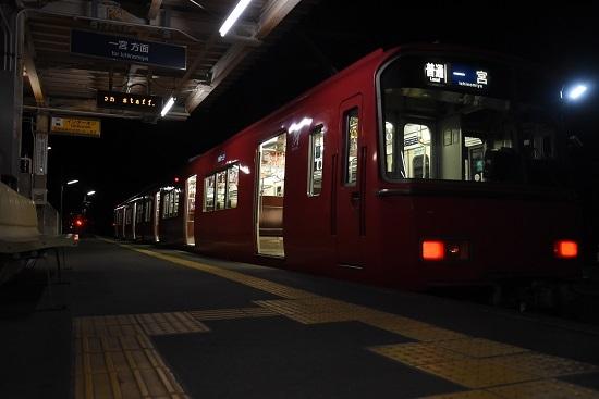 2019年12月28日乗車 名鉄尾西線 玉ノ井駅