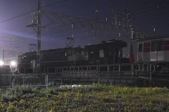 2019年11月15日撮影 都営大江戸線 EF65-2068号機