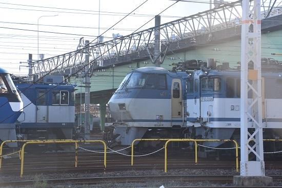 2019年12月29日撮影 EF65-2094号機とEF66-110号機