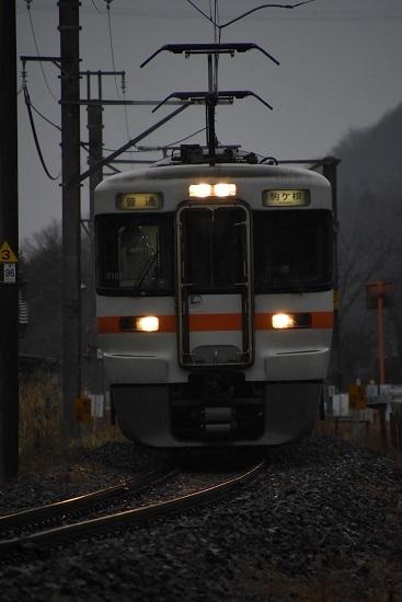 2020年3月8日撮影 辰野線1408M 313系駒ケ根行