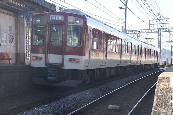 2019年12月29日撮影 近鉄米野駅にて9000系