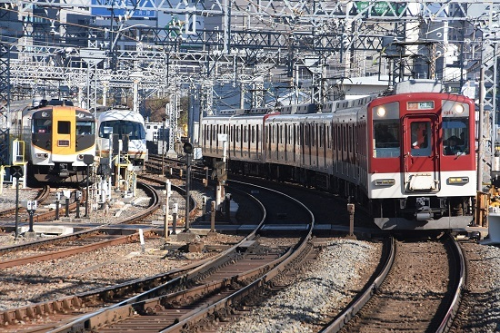 2019年12月29日撮影 近鉄1200系